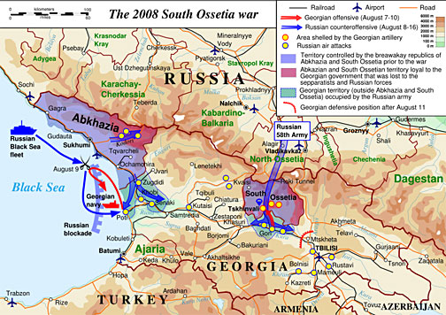 Russia Begins War Games Near Georgia – World War III Gearing Up?