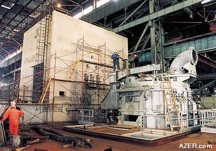 Baku steel company