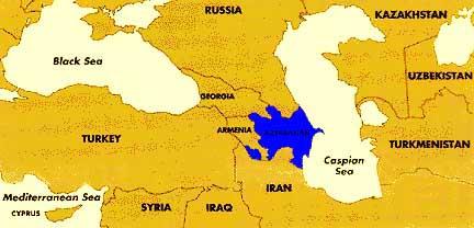 Map Of Azerbaijan - Azerbaijan map